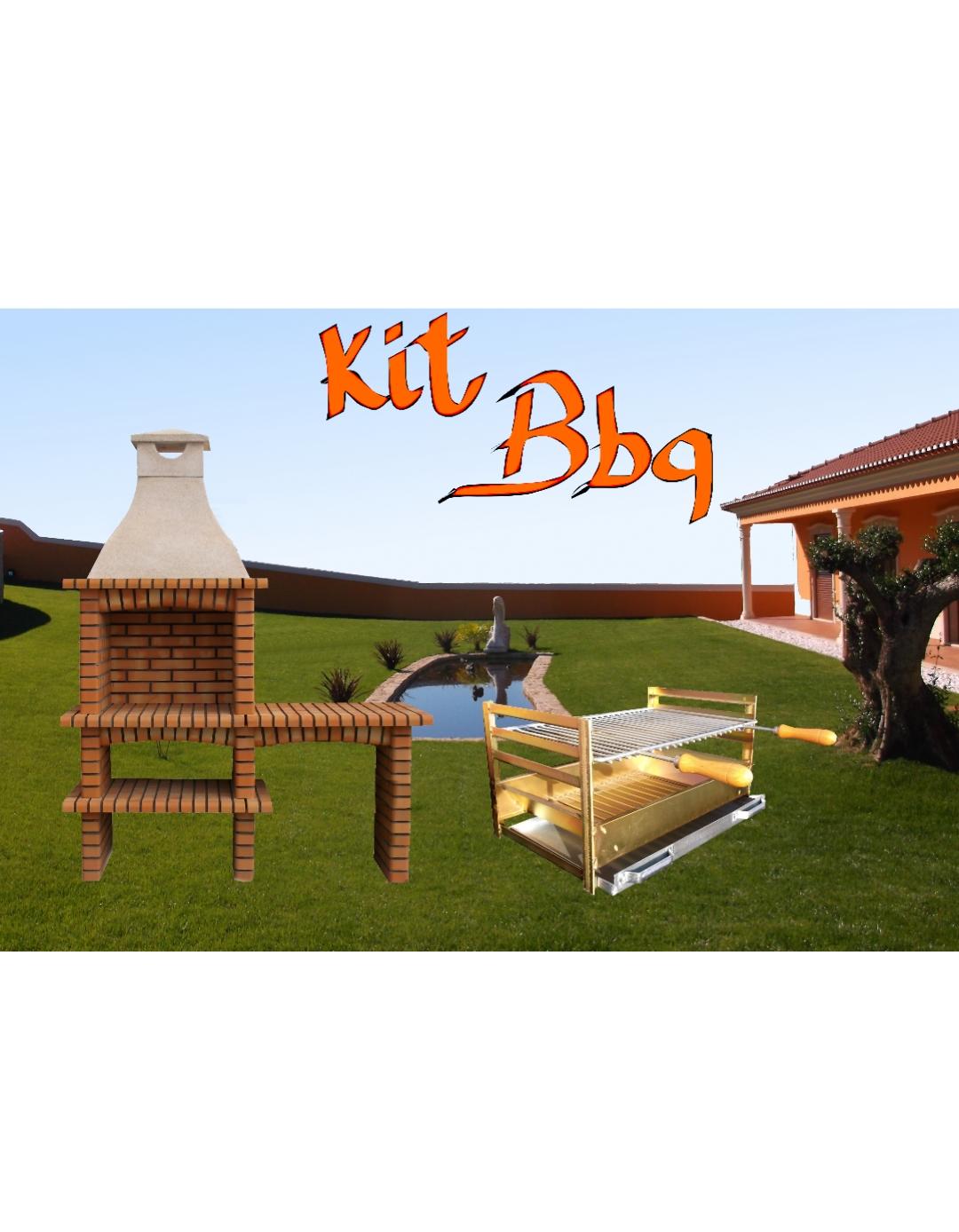 kit bbq artiforno. Black Bedroom Furniture Sets. Home Design Ideas